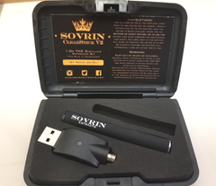 Clearstick V2 vape pen battery and charger image - sovrin extracts