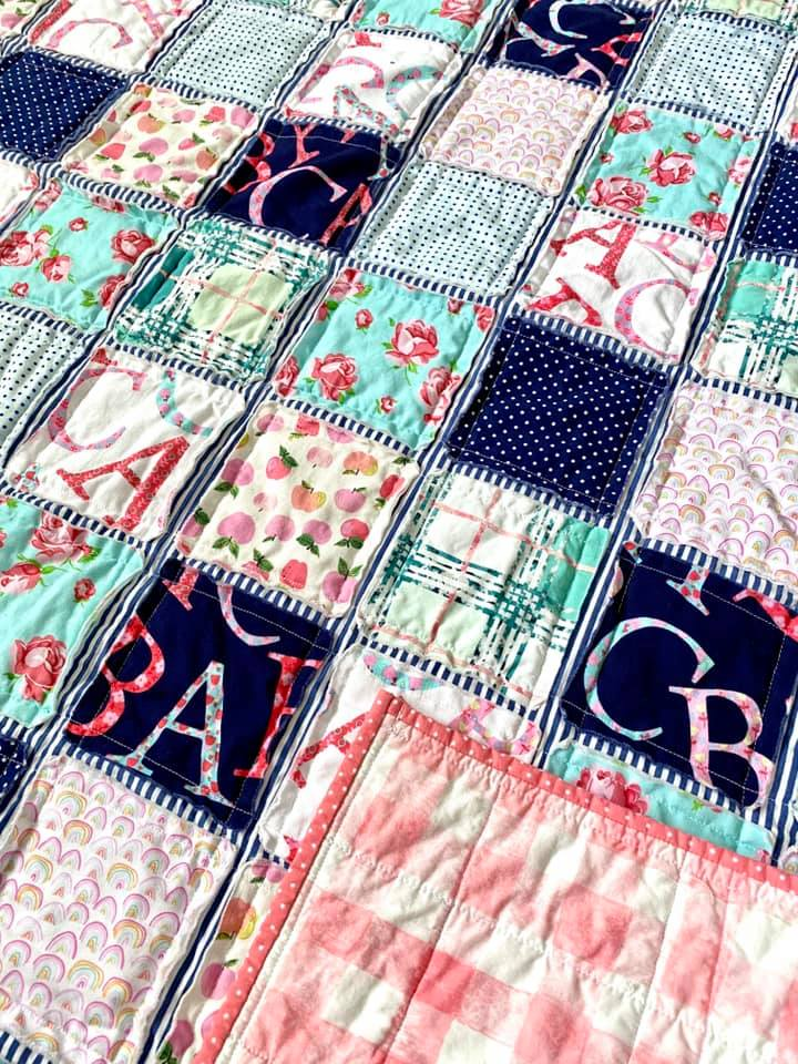 A is for Apple Quilt