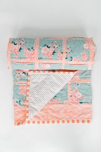 mint-apricot-beautiful-baby-quilt-newborn-baby-gift-top-gifts-for-babies