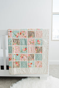 elegant-vintage-floral-nursery-blanket-for-little-ones