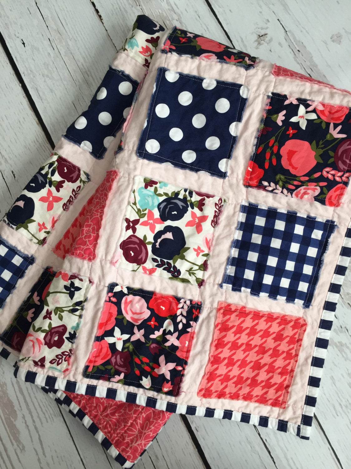 Posey Patchwork Quilt