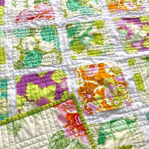 best-blankets-for-new-babies-floral-print-baby-blanket-sugar-owl-design