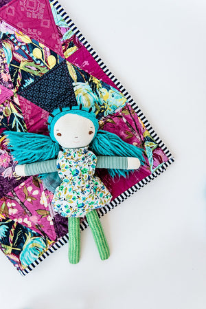 baby-girl-gift-mermaid-doll-and-floral-blanket