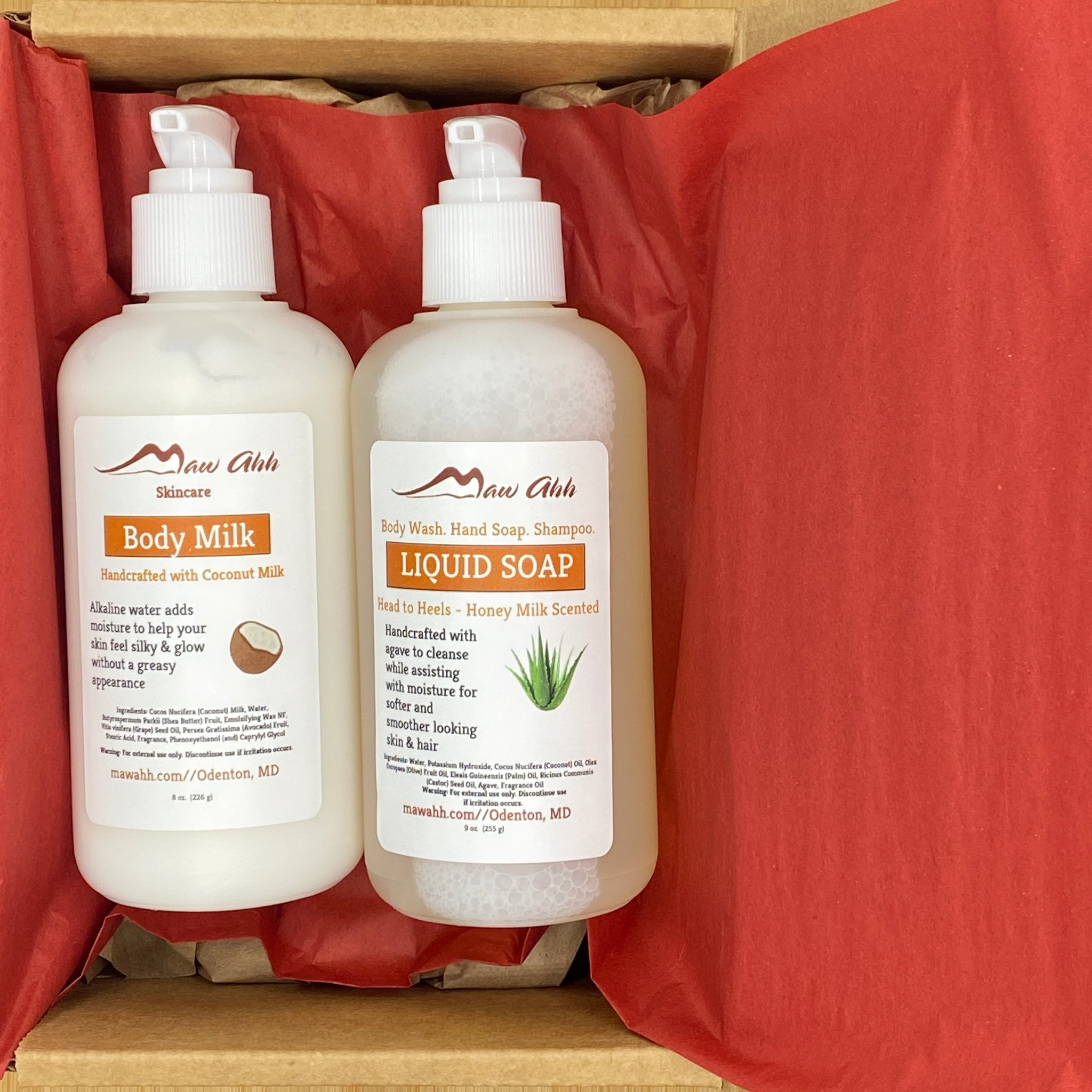 Liquid Soap & Lotion Gift Set