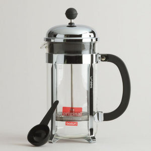 BODUM® French Press- Chrome 8 cup