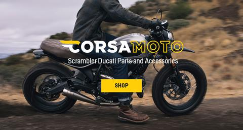 Introducing Corsa Moto - Parts for Scrambler Ducati