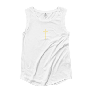 Women's Cross Cap Sleeve T-Shirt