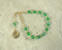Gaia (Gaea) Prayer Bead Bracelet: Mother Earth, Mother of the Greek Gods, Mother of All That Is. - Hearthfire Handworks