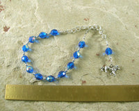 Tefnut Prayer Bead Bracelet: Goddess of the Waters and the Rains
