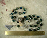 Dagda Prayer Beads: Irish Celtic God of Abundance and Protection - Hearthfire Handworks