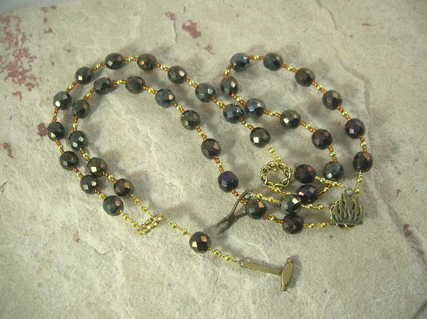 Hephaistos (Hephaestus) Prayer Beads: Greek God of Blacksmiths and the Forge