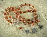 Hestia Prayer Beads: Greek Goddess of Hearth, Home and Family, Household and Community - Hearthfire Handworks