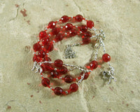 Loki Prayer Beads: Norse God of Chaos, Change, Transformation - Hearthfire Handworks