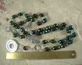Rhea Prayer Beads: Titan Goddess of the Earth, Mother of the Greek Gods - Hearthfire Handworks