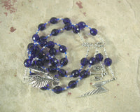 Zeus Prayer Beads: Greek God of the Sky and Storm, Thunder and Lightning, Justice - Hearthfire Handworks