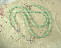 Artemis Prayer Bead Necklace in Aventurine: Greek Goddess of  the Wild, Protector of Young Women - Hearthfire Handworks