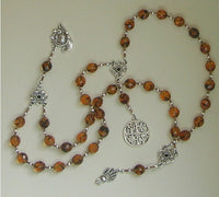 Demeter Prayer Beads: Greek Goddess of Grain, the Harvest, the Seasons, and the Afterlife. - Hearthfire Handworks