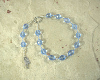 Cardea Pocket Prayer Beads: Roman Goddess of the Door-Hinge, Protector of Household and Threshold