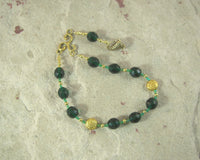 Erecura Pocket Prayer Beads: Gaulish Celtic Goddess of Prosperity, Goddess of the Underworld