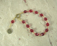 Horus the Elder (Heru-wer) Pocket Prayer Beads: Egyptian God of Battle, Protection, Prosperity