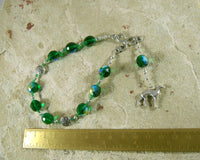 Mabon (Mabon ap Modron) Pocket Prayer Beads: Welsh Celtic God of Youth, God of the Hunt - Hearthfire Handworks