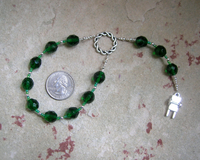 Nerthus Pocket Prayer Beads: Norse Goddess of Abundance and Fertility