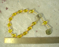 Ra (Re) Pocket Prayer Beads: Egyptian God of the Sun
