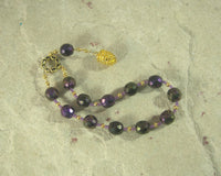 Semele (Thyone) Pocket Prayer Beads: Greek Goddess of Dionysiac Ecstasy and Frenzy