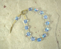 Shu Pocket Prayer Beads: Egyptian God of the Air, the Winds, the Atmosphere