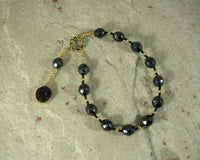 Styx Pocket Prayer Beads: Greek Goddess of the River Styx, Upholder of the Gods' Oaths