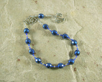 Themis Pocket Prayer Beads: Greek Goddess of Universal Law and Justice