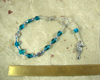 Manannan mac Lir Travel Prayer Beads: Irish Celtic God of the Sea and the Otherworld