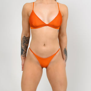European Orange Bikini