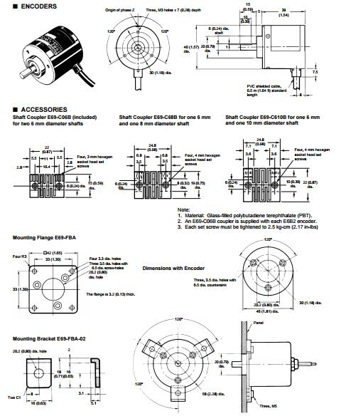 E6B2-CWZ5B omron E6B2 series encoder - industry-mall