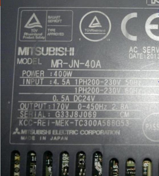 MR-JN-10A,MR-JN-40A,MR-JN-70A Mitsubishi mr-JN servo motor driver encoder amplifier maintenance and  accessories