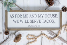 As For Me And My House We Will Serve Pizza
