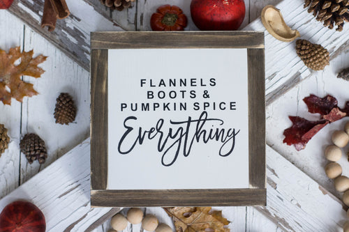 Flannels, Boots and Pumpkin Spice Everything