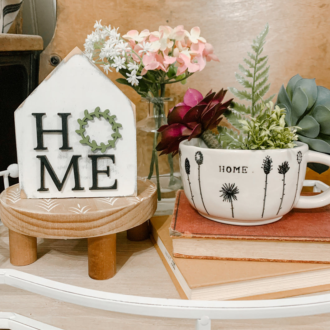 Home 3D Farmhouse Mini House Signs
