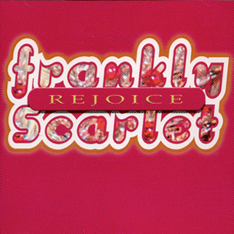 """Rejoice"" Holiday CD - Frankly Scarlet"
