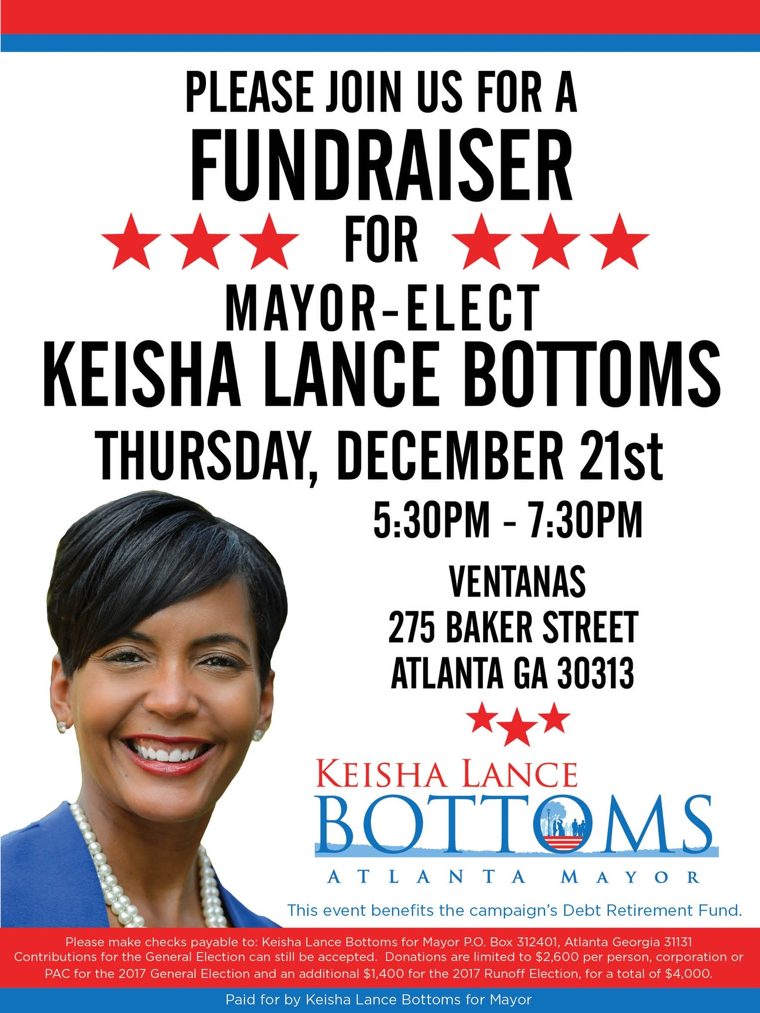 Atlanta Mayor Elect Keisha Lance Bottoms