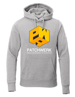 Light Grey Patchwerk Premium Hoodie