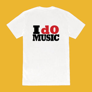 I dO MUSIC Tee (white)