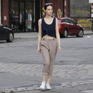 Tribeca Pleated Pant