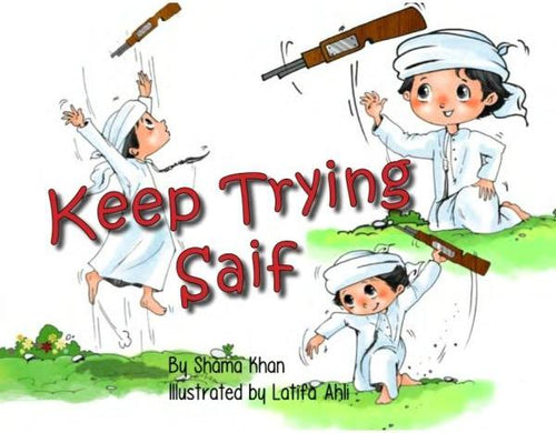 Keep Trying Saif (60 AED)