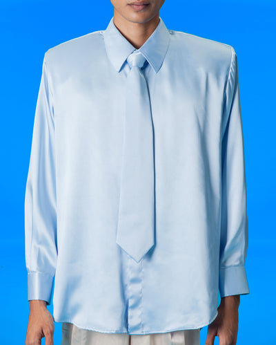Bahu Satin Shirt