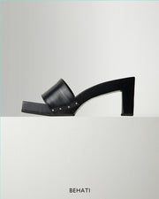 "3"" Terompah Heel in Black"