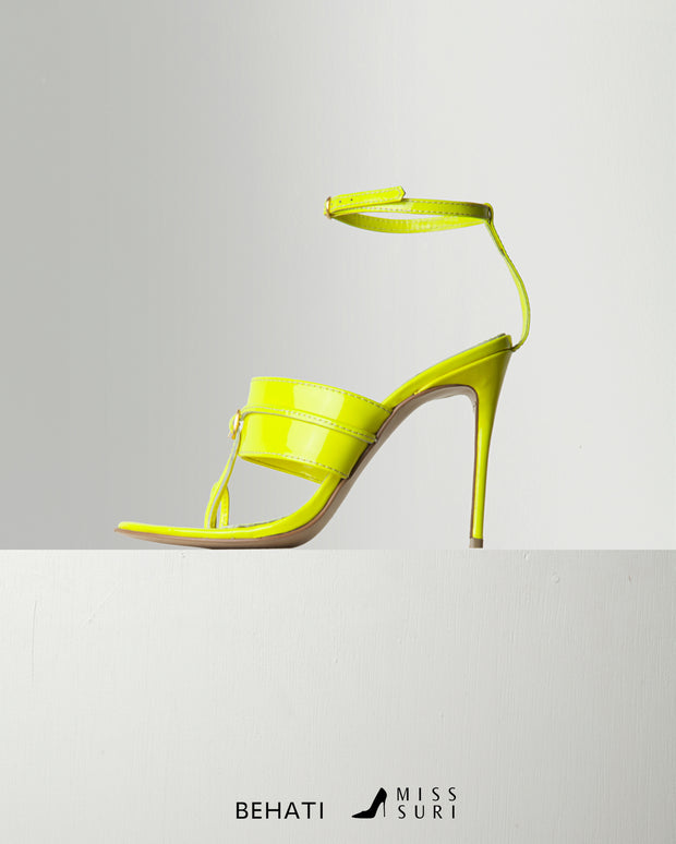 Capal Heel (Neon Yellow)