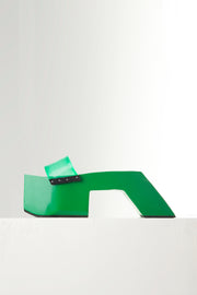 "GREEN 4"" TEROMPAH SLIDES ($ 190)"