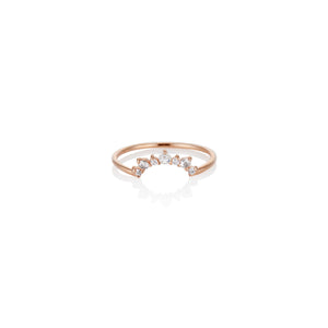 Sunshine Rose Cut Diamond Ring - Charlie and Marcelle