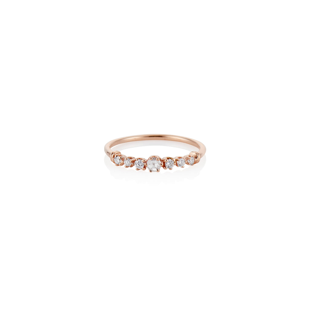 Milestones by AB X Charlie and Marcelle Twinkle Rose Cut Diamond Ring - Charlie and Marcelle